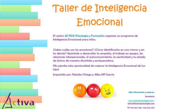 Taller inteligencia emocional Activa psicología